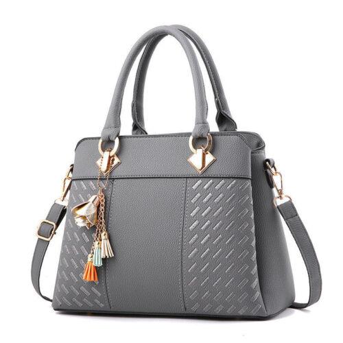 Women Handbag Leather Briefcase Shoulder Bag Tote Purse Ladies Messenger  Satche