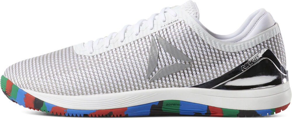 Reebok Crossfit Nano 8 Toile Homme Formation Chaussures-blanc