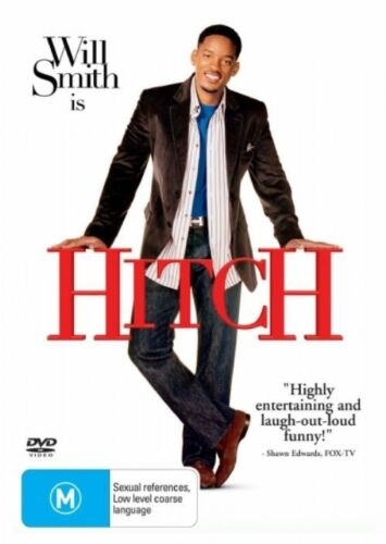 1 of 1 - Hitch - NEW+SEALED DVD movie - fast free post