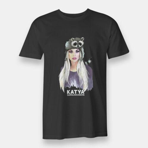 New Zamolodchikova Katya Black T-shirt For Men/'s S-3XL