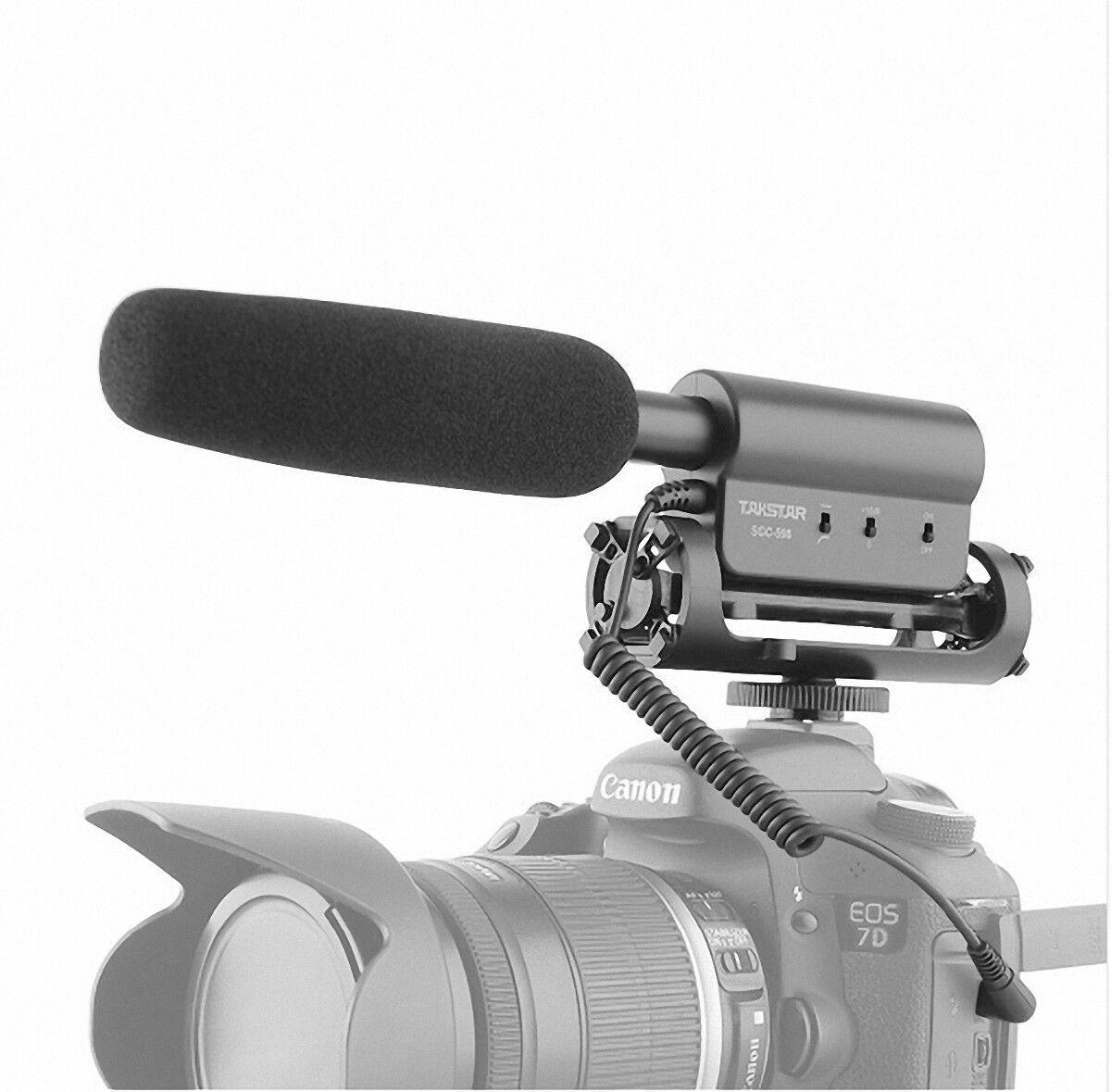 SGC-598 PRO Shotgun DV Stereo MIC Microphone for Canon Pentax Nikon DSLR Camera