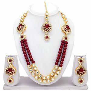 New indian traditional bridal gold plated weddingtemple jewelry image is loading new indian traditional bridal gold plated wedding temple aloadofball