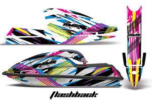 Jet-Ski-Graphics-Kit-Decal-PWC-Wrap-For-Kawasaki-JS-750-SX-1992-1998-FLASHBACK