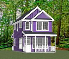 16x30 House -- 2 Bedroom  -- PDF Floor Plan -- 901 sq ft -- Model 22B