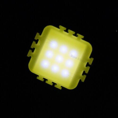 10W White High Power LED Light Lamp Panel w 10W High Power LED Driver AC85-265V