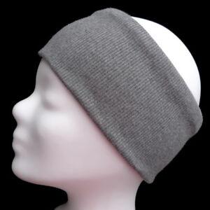 Haarschmuck Damen-accessoires 2019 Mode Hochwertiges Haarband Stirnband Grau Herren Damen 97% Baumwolle 3% Elasthan