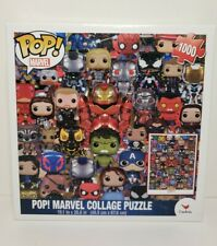 Funko Pop Marvel Comics Heroes Collage Puzzle 1000 Pieces For Sale Online Ebay