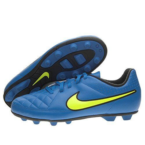 2c79a9019 Nike Jr Tiempo Rio II Fg-r Soccer Cleats 631286 470 Blue US 2.5y (h61-ns)  for sale online