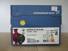 Pumpe Grundfos ALPHA 2 25-40 A 180mm Energiesparpumpe  1x230V  KOST- EX P15/201