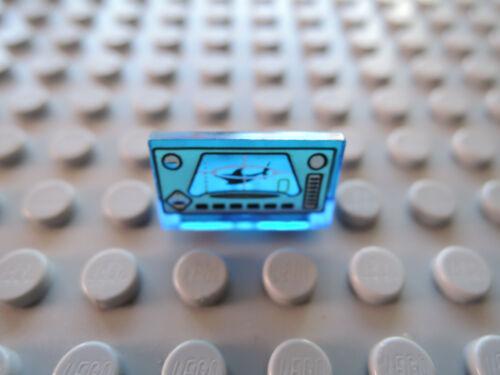 Ogel 4794 Lego 1 x Panel Sitzbank 4865pb006 transparent hellblau 1x2x1  bedr