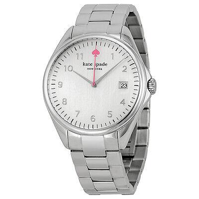 Kate Spade New York Seaport Grand White Dial Steel Ladies Watch 1YRU0029