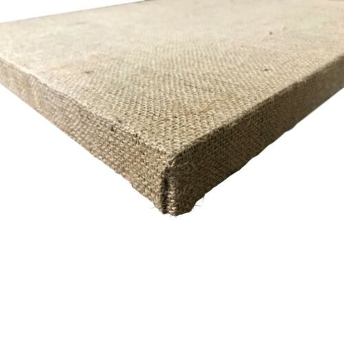 free shipping Multiple size variations NEW Stretched Burlap art Canvas