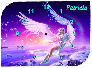 horloge-pendule-murale-ange-prenom-texte-au-choix-ref-F-14