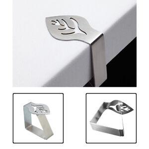Nappe-Clips-Porte-feuille-design-en-acier-inoxydable-Colliers-A-faire-soi-meme-Mariage-Banquet