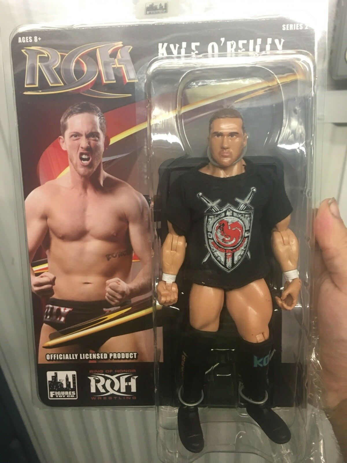 Ring Of Honor Kyle O'Reilly Figure Doll Undisputed Era NXT WWE ROH Free Shipping