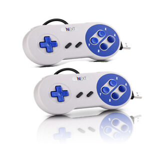 2PCS-SNES-USB-Wired-Gaming-Controller-Video-Game-Pad-Joystick-For-PC-LAPTOP-MAC