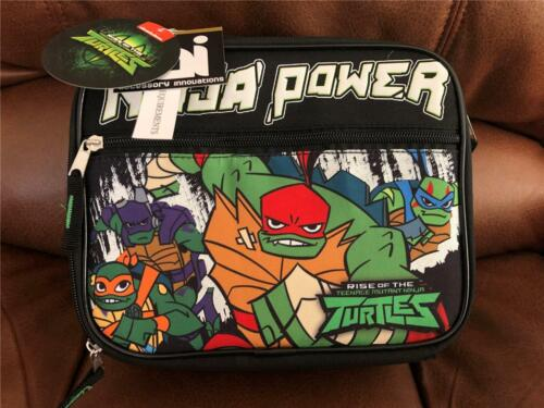 NEW Rise of the Teenage Mutant Ninja Turtles Insulated Lunch Bag Cooler TMNT