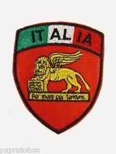 Patch Scudetto San Marco Italia Rosso Marina Militare per Mimetica Vegetata Topp