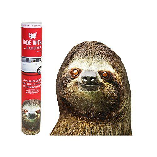 Thumbs Up rw SlthlhdRide With A SlothWindow StickerSloth,