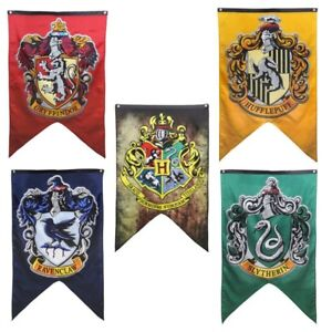 Image Is Loading UK Harry Potter Banner Flag Gryffindor Slytherin Ravenclaw