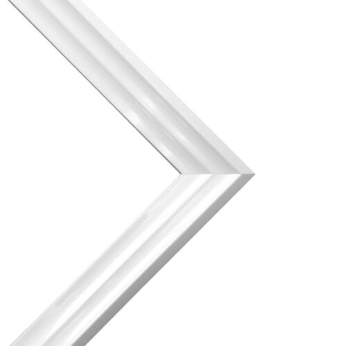Firenza Gloss White Picture Photo Frames with Acid Free Mounts 50 x 35mm