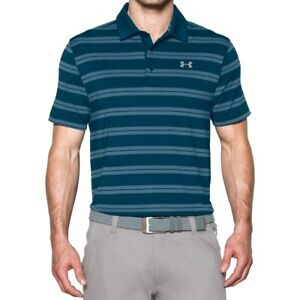 New Mens Under Armour Muscle Golf Polo Shirt Small Medium Large XL 2XL 3XL