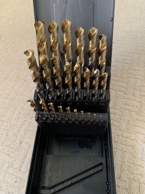 Spiralbohrer Extra lang DIN 1869 HSS-G 2,0-10,0 mm Metallbohrer Lange Bohrer