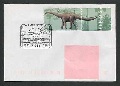 Brd Sonderbeleg 2008 Dinosaurier Dinosaur Prehistory Diplodocus H0084