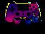 PS4-Scuf-Controller-Shark-Paddles-45-Designs-Auswahl-NEU-amp-vom-Haendler Indexbild 6