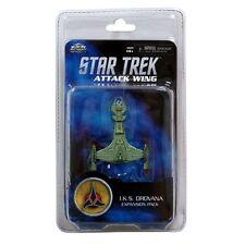 Star Trek Attack Wing: Klingon (I.K.S Drovana) Expansion Pack WZK 72334