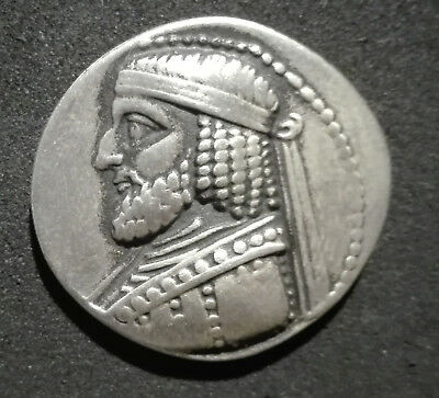 Parthian Empire Adaptable Collective Ancient Greek Tetradrachm Unknown King Ii