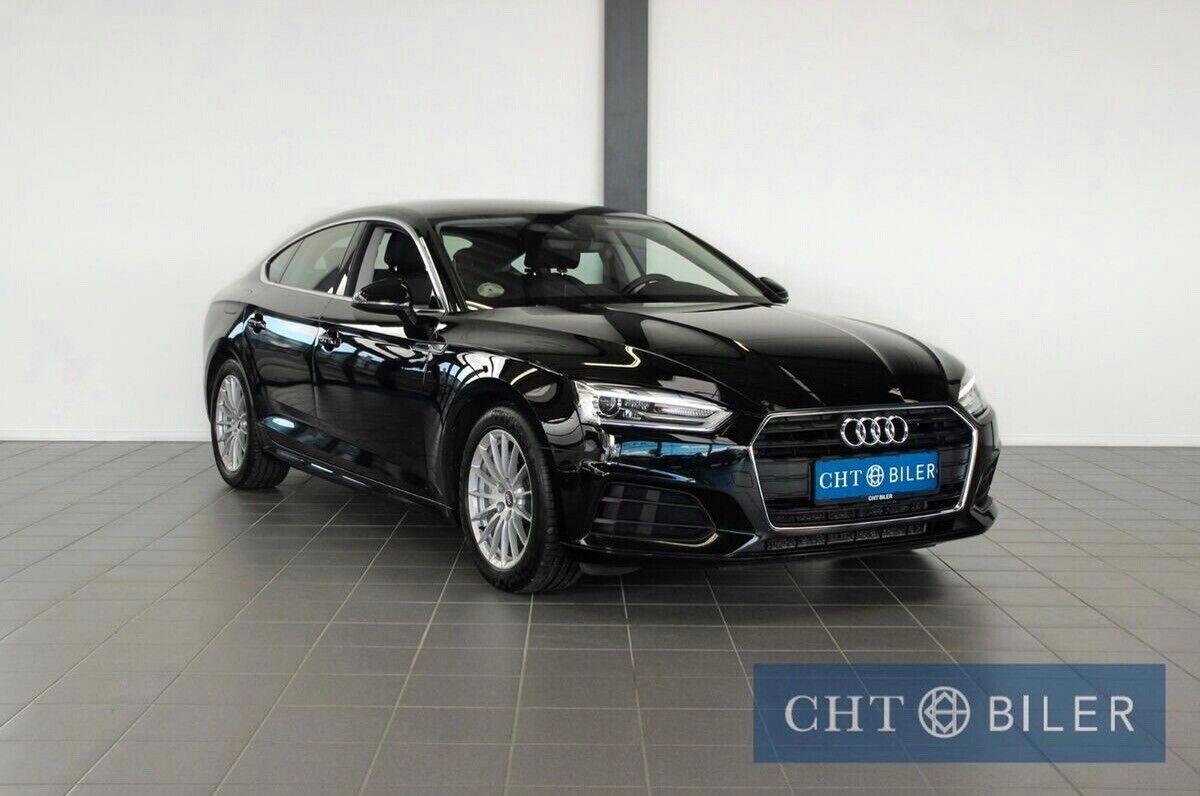 Audi A5 2,0 TDi 190 Sportback S-tr. 5d - 319.800 kr.