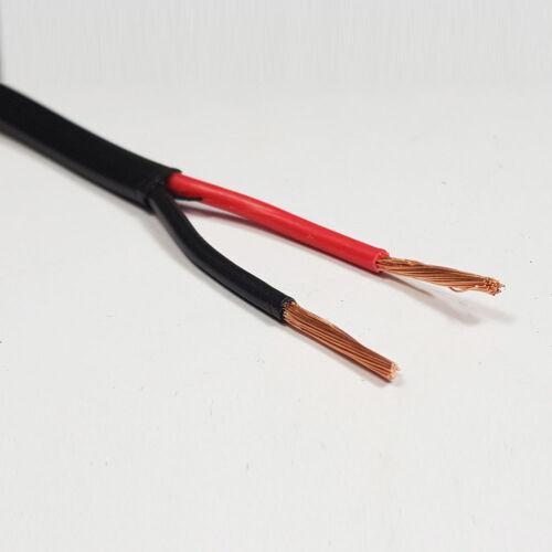 5 METRI x 2.5 mm² thinwall Twin Core Due Core 2 Core Cavo rosso//nero 29 AMP FILO