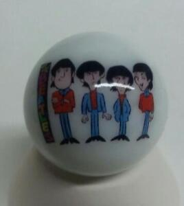 Very Nice The Beatles Glass Marble # 2