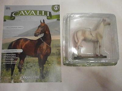 Qualificato Cavalli N 15 - L'alkhal Teke - Miniature Artistiche - Compro Fumetti Shop