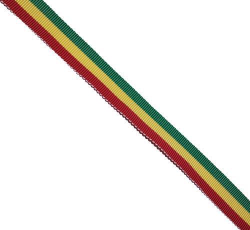 La Jamaïque Jamaïcain drapeau 16 mm gros-grain Cake Board cadeau décoration textiles Ruban