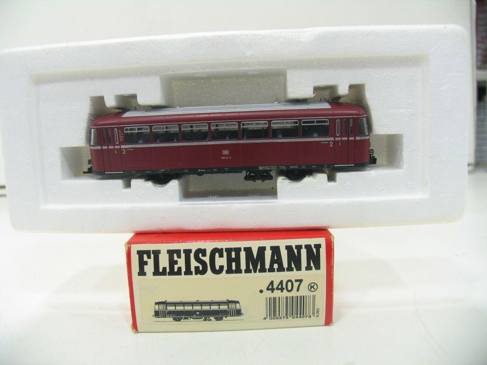 Fleischman 4407 railbus vt vt vt 795 rojo DB wm861 934