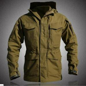 Mens-Army-Military-Trench-Coat-Tactical-Jacket-Waterproof-Outdoor-Overwear-2019