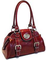 Floto Imports Luggage Procida Handbag, Italian Leather