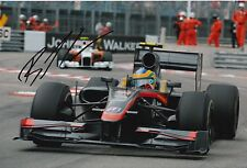 Bruno Senna Hand Signed Hispania F1 12x8 Photo.