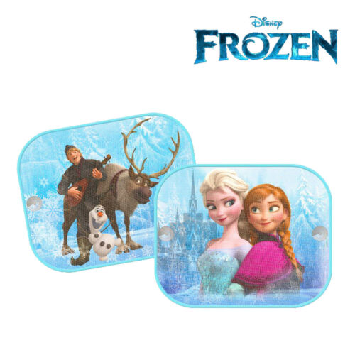 2 x Disney Frozen Princess Elsa Car Window Blinds Sun Shades UV Block Protection