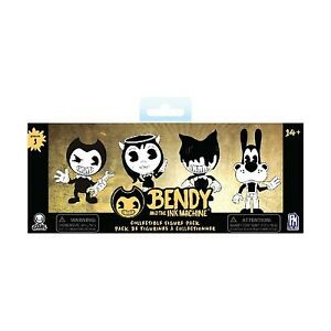 "Bendy and The Ink Machine 3"" Set of 4 Figures"