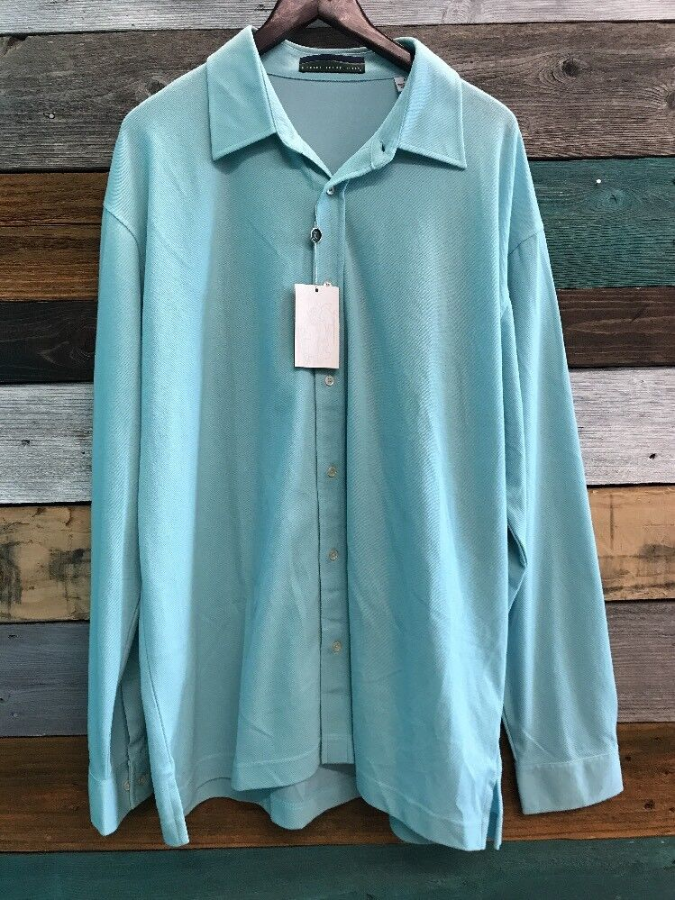 da6fb113 Mens Robert Trent Jones Long Sleeve Button Up Size Extra Large  opexdr69-Casual Button-Down Shirts
