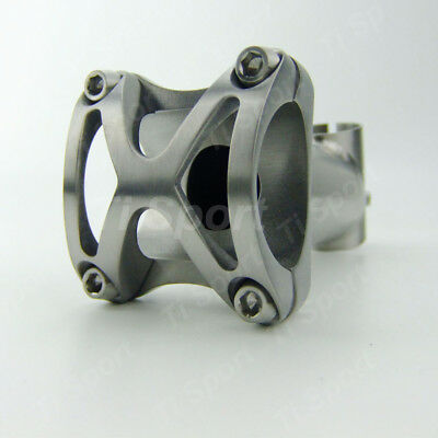 "10Degree Titanium Stem 25.4//31.8mm//1 1//8/""-For Road//Mountain Bike//XC//MTB//FR//DH"