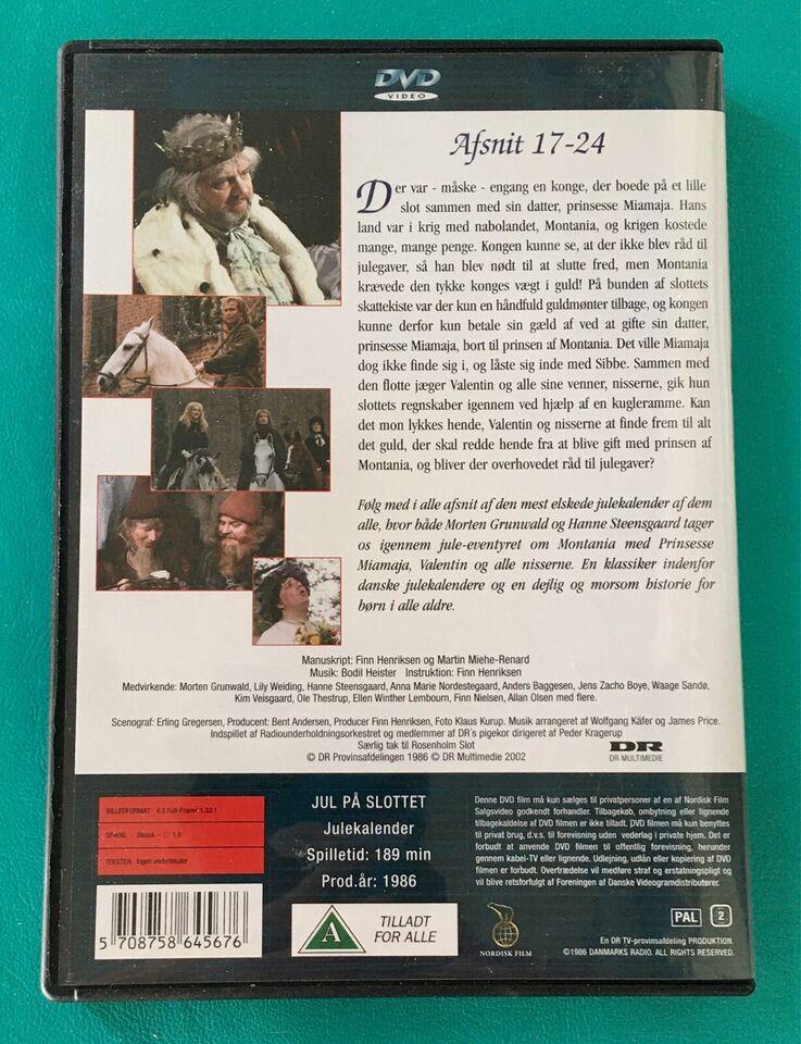 DR-TV: Jul på Slottet (3DVD), DVD, TV-serier