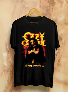OZZY OSBOURNE No More Tours Vol.2 World Tour 2018 Official Licensed T-Shirt,OZZY