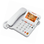AT-amp-T-CL4940-Corded-Standard-Phone-w-Answering-System-and-Backlit-Display-White thumbnail 3