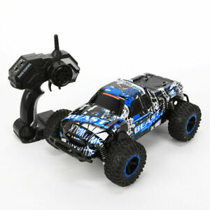 WOW RC High Speed Remote Control Car 2.4G Off Road Monster Truck toy for boy kid