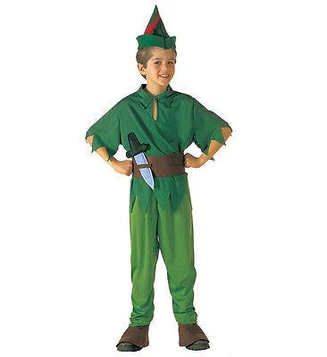 George DISNEY PETER PAN RAGAZZI Costume Vestito Giornata Mondiale del Libro