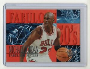 Michael-Jordan-1995-96-Fleer-Ultra-Fabulous-Fifties-Card-5-Chicago-Bulls